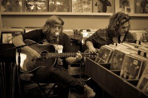 Horse Thief Playing at Guestroom Records.